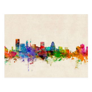 Baltimore Maryland Skyline Cityscape Postcard