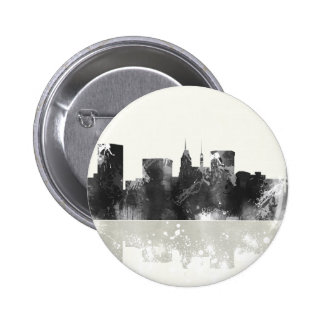 Baltimore Maryland Skyline Pinback Button
