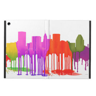 BALTIMORE MARYLAND SKYLINE PUDDLES - COVER FOR iPad AIR