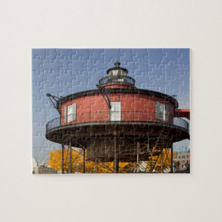 BALTIMORE, MARYLAND. USA. Seven-Foot Knoll Jigsaw Puzzle