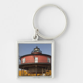 BALTIMORE, MARYLAND. USA. Seven-Foot Knoll Keychain