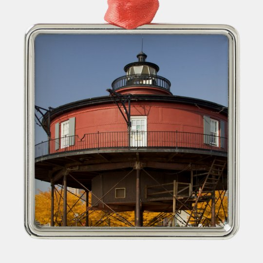 BALTIMORE, MARYLAND. USA. Seven-Foot Knoll Metal Ornament