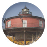BALTIMORE, MARYLAND. USA. Seven-Foot Knoll Dinner Plate