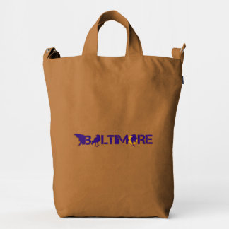 Baltimore Maryland with R💜vens Duck Bag