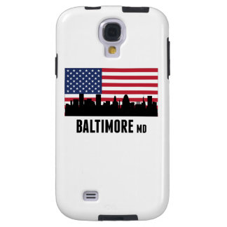 Baltimore MD American Flag Galaxy S4 Case