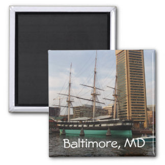 Baltimore, MD Magnet 2 Inch Square Magnet