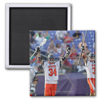 BALTIMORE, MD - MAY 30: Colin Briggs #34 2 Inch Square Magnet