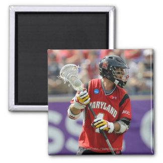 BALTIMORE, MD - MAY 30: Dan Burns #4 2 Inch Square Magnet