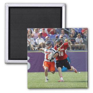 BALTIMORE, MD - MAY 30: Goalie Adam Ghitelman #8 2 Inch Square Magnet