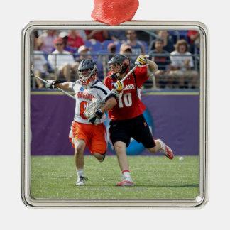 BALTIMORE, MD - MAY 30: Goalie Adam Ghitelman #8 Metal Ornament