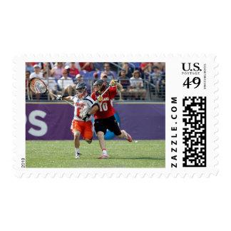 BALTIMORE, MD - MAY 30: Goalie Adam Ghitelman #8 Postage