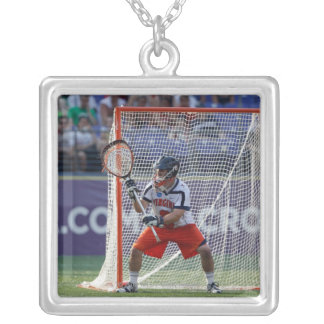 BALTIMORE, MD - MAY 30:  Goalie Adam Ghitelman Personalized Necklace