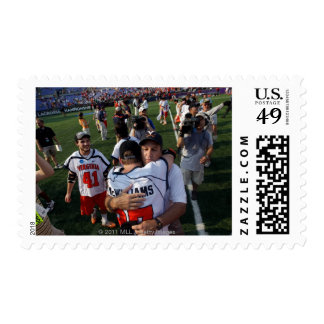 BALTIMORE, MD - MAY 30:  Head coach Dom Starsia Postage Stamp
