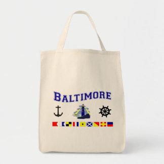 Baltimore, MD Tote Bag