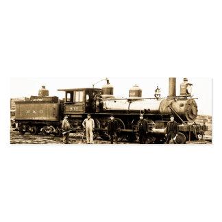 Baltimore & Ohio Railroad Engine 932 Mini Business Card