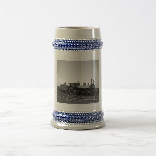 Baltimore & Ohio Railroad Engine # 932 - Vintage Beer Stein