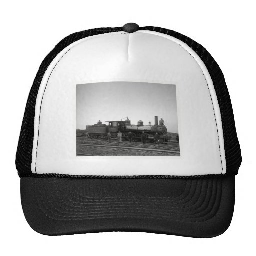 Baltimore & Ohio Railroad Engine # 932 - Vintage Trucker Hats