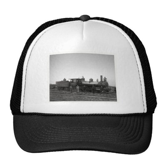 Baltimore & Ohio Railroad Engine # 932 - Vintage Trucker Hat