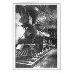 Baltimore & Ohio Railroad Steam Locomotive Card