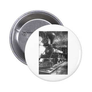 Baltimore & Ohio Railroad Steam Locomotive Pinback Button