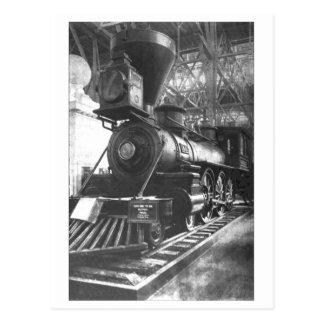 Baltimore & Ohio Railroad Steam Locomotive Postcard