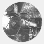 Baltimore & Ohio Railroad Steam Locomotive Classic Round Sticker