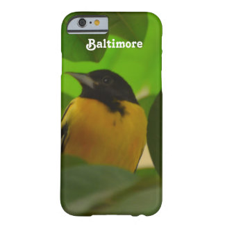 Baltimore Oriole Barely There iPhone 6 Case