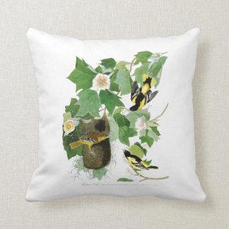 Baltimore Oriole John James Audubon Birds America Pillow