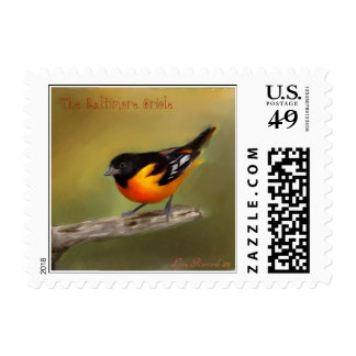 Baltimore Oriole Stamp
