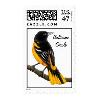 Baltimore Oriole Wild Bird Postage