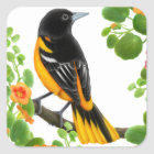 Baltimore Oriole Wild Bird Sticker