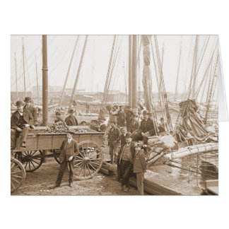 Baltimore Oyster Harvest 1905 Card