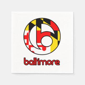 Baltimore Paper Napkin