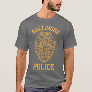 baltimore police maryland detective T-Shirt