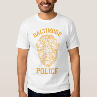 baltimore police maryland detective tee shirt