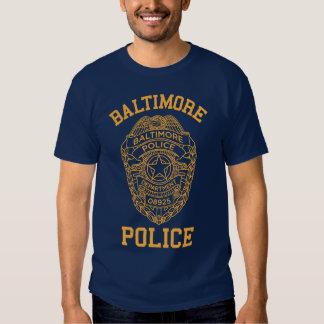 baltimore police maryland detective tshirt