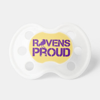 Baltimore Pride Football Fans Pacifier