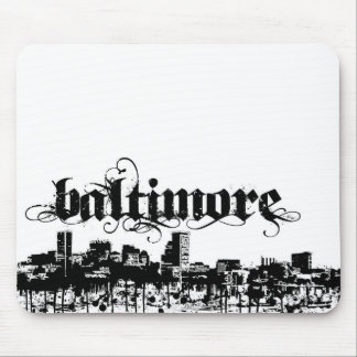 Baltimore put on for your city mouse pad