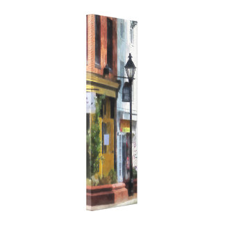 Baltimore - Quaint Fells Point Shreet Canvas Print