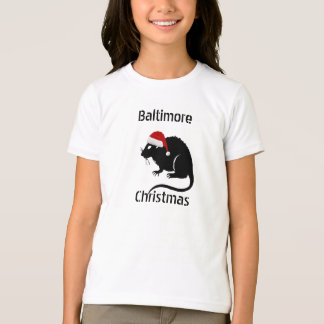"Baltimore ""RATS"" ""BUNNIES"" -- Deal with it! Kids T T-Shirt"