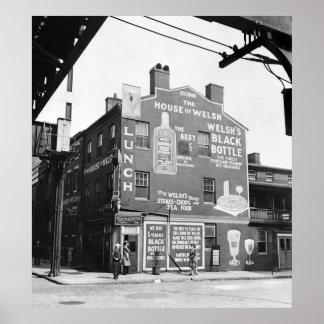 Baltimore Restaurant, 1943 Poster
