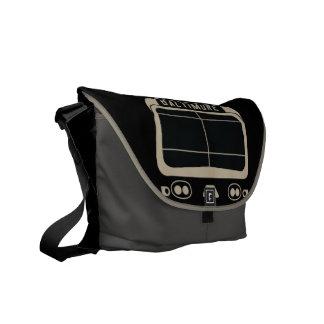 Baltimore Scroll Messenger Bag