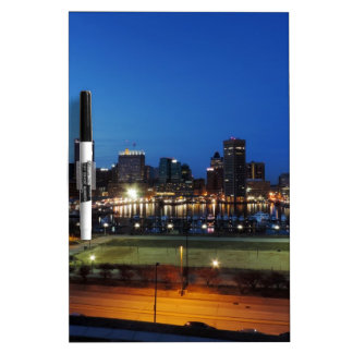 Baltimore Skyline at Dusk Dry-Erase Whiteboards