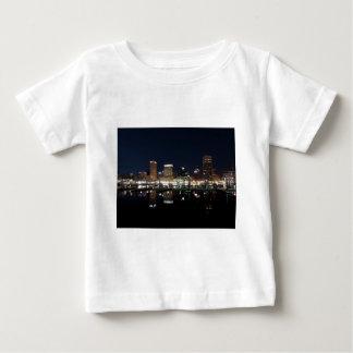 Baltimore Skyline at Night Infant T-shirt