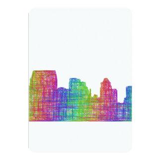 Baltimore skyline card