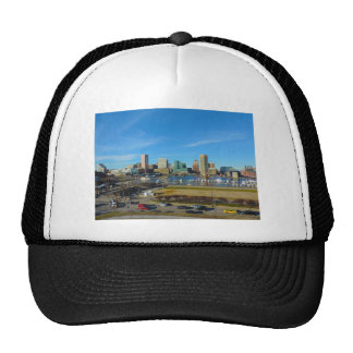 Baltimore Skyline from Federal Hill Trucker Hat
