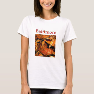 Baltimore Steamed Crabs Logo T-Shirt
