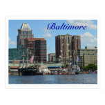 Baltimore Tarjeta Postal