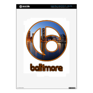 Baltimore things iPad 3 decals