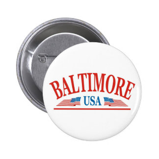 Baltimore USA Button